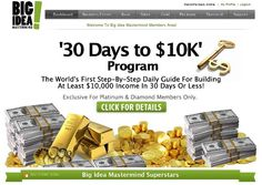Free Webinar - Thursday Sept. 5th - How to get $10000 Deposited Monthly