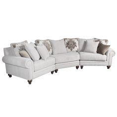 New Dimensions JAPPAS Jackson Angled Sectional Sofa - Home Furniture Showroom