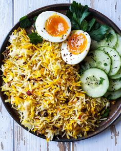 Easy Saffron and Barberry Rice | The Lemon Apron Less steps but just as tasty! Exotic side dish in minutes. #saffronrice #barberries #ricedish #whatsfordinner Apron, Veggies, Rice, Ethnic Recipes, Easy, Food, Vegetable Recipes, Eten, Aprons