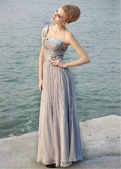 Elegant Chiffon One-Shoulder Prom Dress P2816  $138.95
