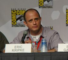 Eric Kripke is an American television writer, director, and producer. He is the creator of The WB (now The CW) series Supernatural and more recently the NBC series Revolution. Castiel, Supernatural Fans, Nbc Series, The Cw Series, Mark Sheppard, Sam Winchester, Jared Padalecki, Misha Collins, Jensen Ackles