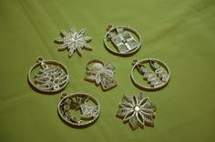 Christmas Tree Ornaments 2013-unknown artist