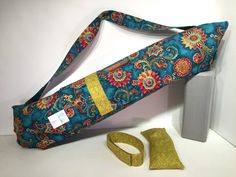 Deluxe Yoga Mat Carrier with Pocket mat strap by TwoBossyBritches