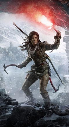 Games wallpapers | Rise Of The Tomb Raider Game | http://www.fabuloussavers.com/games-desktop-wallpapers.shtml