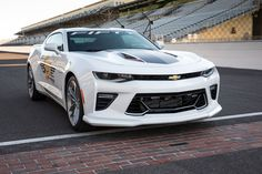 2017 Camaro SS 50th Anniversary Edition will be the pace car at 100th Indianapolis 500