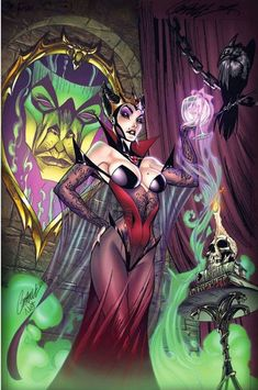 The Evil Queen by J. Scott Campbell