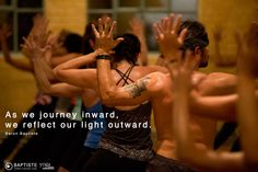 """As we journey inward, we reflect our light outward!"""