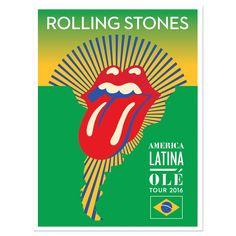 América Latina Olé 2016 Tour Posters