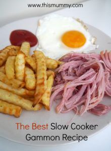 best slow cooker gammon recipe