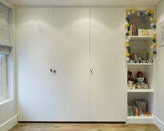 Talbot Road by Ardesia Design #interior #design #kids #bedroom #toys #storage #joinery #white #minimal