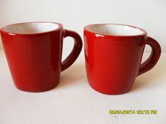 Cecilia Fdez. Desayuno para dos.! Tazas de cerámica esmaltada.