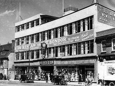 Hinds Department Store, High street, Eltham, 1936