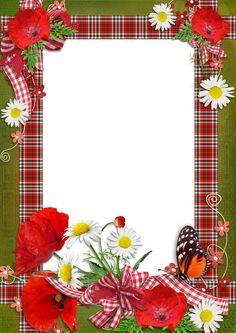 frame png | Marcadores: flores png , molduras e frames png