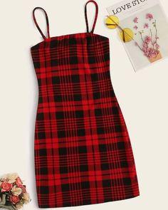 Two Tone Tartan Pattern Dress Check out this Two Tone Tartan Pattern Dress on Shein and explore more to meet your fashion needs! Girls Fashion Clothes, Teen Fashion Outfits, Girl Outfits, Teenager Outfits, Fashion Dresses, Trendy Fashion, Fashion Moda, Baby Girl Fashion, Emo Fashion