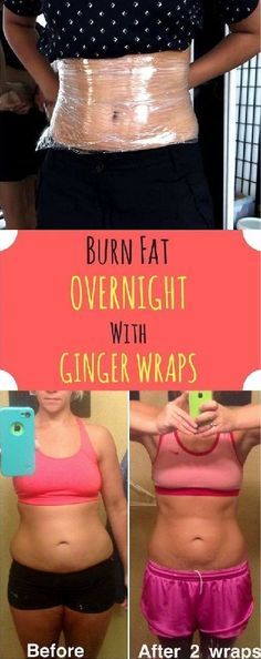 Burn Fat Over Night With This Ginger Wraps