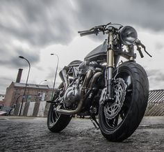 Down and Out W650 Cafe Racer