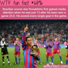 The best soccer players in history - WTF fun fact
