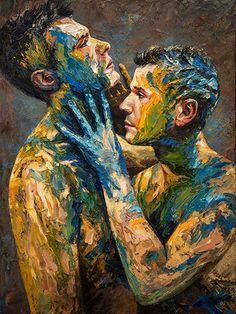Artista cria pinturas para questionar a construção da identidade masculina                                                                                                                                                                                 Mais