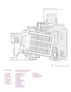 Gallery Of Minnesota Orchestra Hall Kpmb Architects 27 Museum regarding Hamer Hall Seating Plan Arm Architecture, Architecture Details, Auditorium Plan, Minnesota, Rehearsal Room, Museum Plan, Theater, Seating Charts, Concert Hall