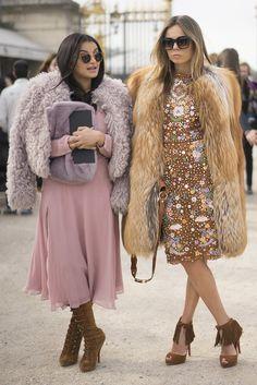 Paris Fashion Week Street Style Fall 2015   #streetstyle #fashion #trends2015…