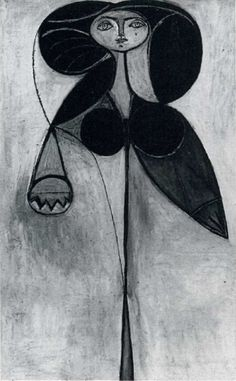 1946 La femme-fleur (FranЗoise GIlot). Pablo Picasso (1881-1973) Period of creation: 1943-1961