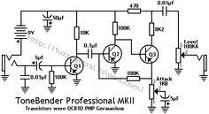 Sola Sound ToneBender MKII Schematic