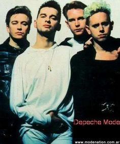 Depeche Mode, they look so hot when the do the moody look!!!!
