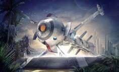 Captain Future Comet