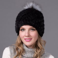Hot Genuine Mink Fur Hat Cap Nature Knit Mink Fur Hat Fashion Women Winter Headgear #>=#>=#>=#>=#> Click on the pin to check out discount price, color, size, shipping, etc. Save and like it!