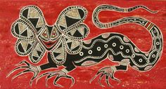 Francis Firebrace peinture aborigène