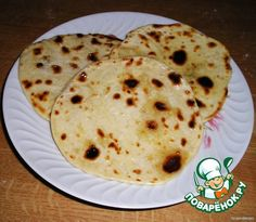 Чапати - чудесные индийские лепeшки ингредиенты