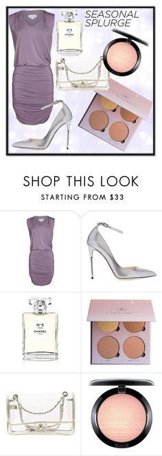 """""""Splashing the cash💸"""" by missmya27 ❤ liked on Polyvore featuring Velvet by Graham & Spencer, Jimmy Choo, Chanel and MAC Cosmetics"""