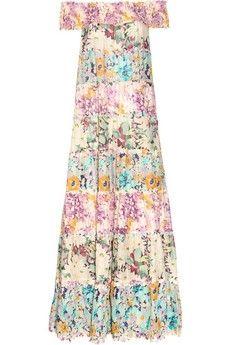 Zimmermann|Posy floral-print cotton-voile maxi dress|NET-A-PORTER.COM - StyleSays