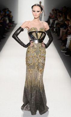 Falguni & Shane - Mercedes-Benz Fashion Week : Fall 2013