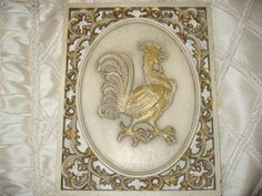 GVS TEAM Vintage Rooster Plaque  Wall Hanging by SimplyClassicSHek on Etsy, $11.00