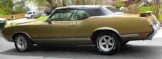 1970 olds cutlass sx conv. My first car, only mine was blue with a white top. I wish I had it now :)