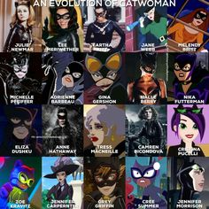 Julie Lee, Berry, Jennifer Grey, Childhood Characters, Queen, Power Girl, Voice Actor, Catwoman, Marvel Dc