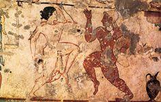 Dancers (Tomb of the Lionesses, Tarquinia, Italy)
