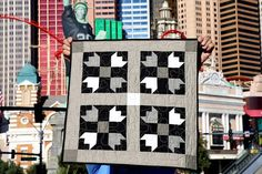 Flatiorn Quilt Kit by The Tattooed Quilter for Riley Blake Designs