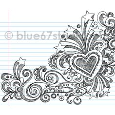 Hand-Drawn Abstract Sketchy Notebook Doodles Vector Illustration by blue67design.com | Flickr - Photo Sharing!