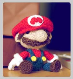 amigurumi sackboy Mario Bros for a birthday gift