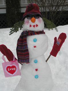 valentine snowlady