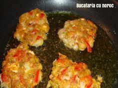 Chiftele de rosii - Bucataria cu noroc Noroc, Meat, Chicken, Cubs
