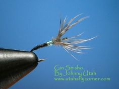 Tying the Gin Seisho kebari Tenkara fly with Johnny Utah