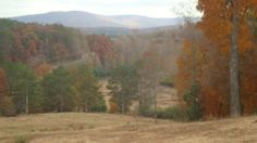 View from a farm at the Walker & Chattooga county line in northwest GA