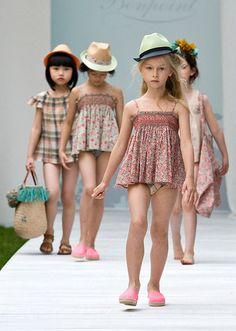 ランウェイの主役は子どもたち!ボンポワン2014年春夏コレクション、愛らしいステージが観客を魅了の写真27