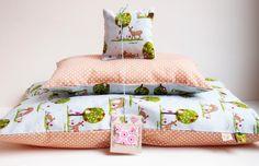 """Puppenwagen - 3-teiliges Puppenbettzeug: """"Waldfreunde"""" - ein Designerstück von Miss_Rosaly bei DaWanda"""