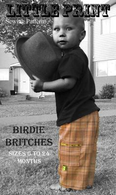 Birdie Britches ePattern - easy pants for baby-toddler