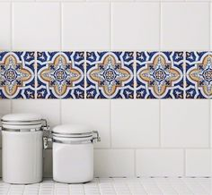 Casita Design Tile Tattoos Are Stickers For An Affordable Tile Makeover In  Minutes. Easily Apply