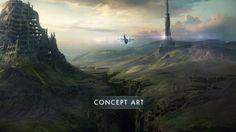 Oblivion Movie Concept Art  - http://conceptartworld.com/?p=21872
